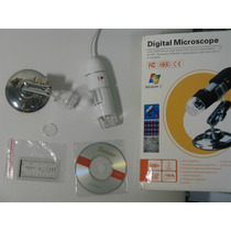 Microscópio Digital Usb 500x 2.0mp & Software De Medição