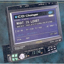 Monitor Alpine Cva-1003 + Leitor Dvd Powerpack