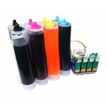 Bulk Ink Epson Tx125 Tx123 T25 Tx135 + 400ml Tinta Formulabs