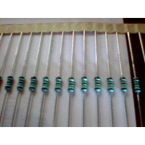 Resistor Sfr 25 1/4w 1k5 1% Kit C/100 Peças R$ 10,70+frete.