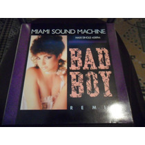 Lp Vinil Gloria Estefan Miami Sound Machine Bad Boy Remix