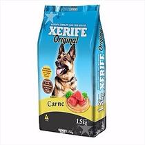 Ração Xerife Original Cães Adultos Sabor Carne 15kg