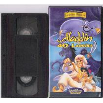 Fita Vhs Coleção Disney Aladim E Os 40 Ladrões