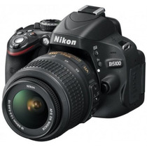 Nikon D5100 16mp Full Hd Lente 18-55mm Brinde: Sd4gb Com Nf