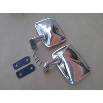 Retrovisor Do Chevette Chevrolet Em Alumínio Polido