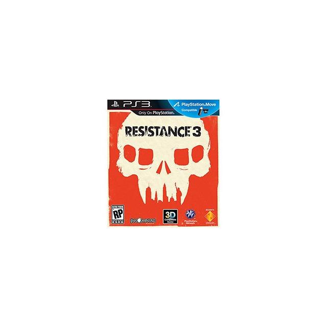 Resistance 3 - Ps3 - Novo Original Lacrado