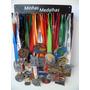 Portamedalhas Em Aço - Frete Grátis - Cap 45 Medalhas