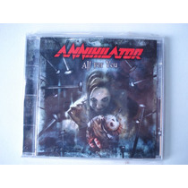 Annihilator All For You Cd E