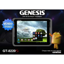 Tablet Genesis Gt-8220s,wifi,3g, Hdmi, Adapt. Tv Dig Gtv-100