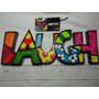 Romero Britto Palavra Laugh Word Decor
