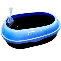 Caixa Higiene Banheiro Gato Areia C/ Pegador Western #pet-24