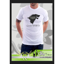 Camiseta Game Of Thrones - Winter Is Coming