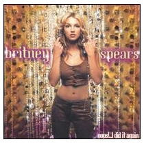 Cd Britney Spears Oops!...i Did It Again [eua] Novo Lacrado