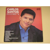 Carlos Santos Vol 9 1987 Lp Vinil Frete Grátis!!!