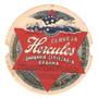 Rótulo Antigo Da Cerveja Hercules (redondo)