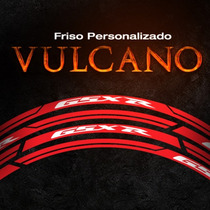 Friso Refletivo Personalizado Vulcano