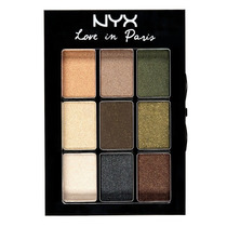 Nyx Paleta Sombras- Love In Paris Eye Shadow Lançamento 2013