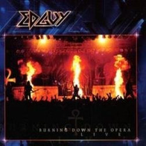 Cd Edguy - Burning Down Live Opera ( Lacrado Duplo - Frete G