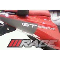 Adesivo Gtr 650 Par Para Rabeta Lateral Moto Comet Efi Gt-r