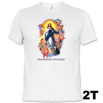 Camisetas Santos Catolicos Imaculada Conceição 629