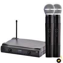 Microfone Sem Fio Tagima Tag Sound Tm 559 B