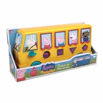 Ônibus Peppa Pig - Ônibus De Atividades Formas Geométricas