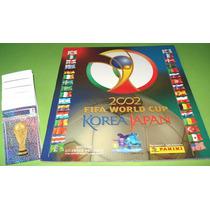 Copa 2002 - Album Completo - 576 Figurinhas Soltas - Panini