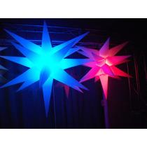Sputnik Estrela19 Pontas 3d,festas,aniversário,iluminação.dj