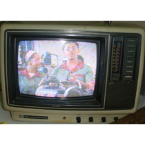 = Tv 10 Colorida Semp Toshiba Portátil Baby Antiga Funciona