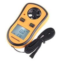 Anemometro Termometro Digital Medidor De Velocidade Do Vento