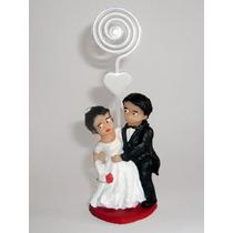 10 Lembrancinhas De Casamento Noivinhos Em Biscuit