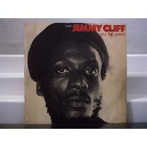 Jimmy Cliff I Am The Living Lp Vinil Wb 1978 Com Encarte