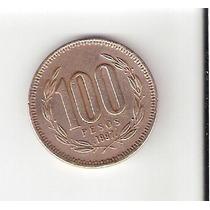 Linda Moeda Do Chile De 100 Pesos De 1997 - Vejam A Foto !!!