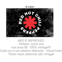 Adesivo Notebook Rock Heavy Red Hot Chili Peppers Vintage