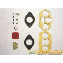 W44 Idf Vertical Pino Sem Mola - Junta Carburador - 1020
