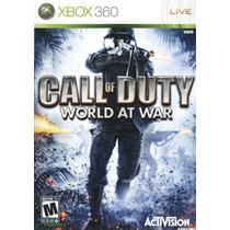 Call Of Duty World At War - Xbox 360 - Original E Completo