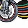 Friso Colorido Para Todas Rodas De Carro E Moto Frete Grátis