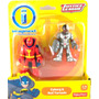 Dc Imaginext Cyborg & Red Tornado Pronta Entrega