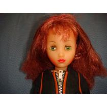 Boneca Antiga Da Atma Jenny Motoqueira