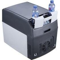 Mini Refrigerador + Cofre Ambos Para Carro,camping, Caminhão