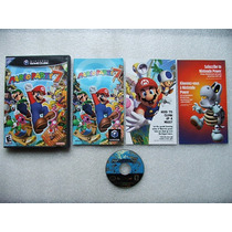 Game Cube: Mario Party 7 Completo + Extras! Raríssimo! Jogão