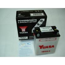 Bateria Yuasa Yb12a-a Cb400/450 Cbr450 Cb360/400/500/550four