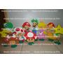 Enfeites/decoração Mario Bros