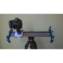 Slider Dolly Travelling Trilho P/dslr Videos Com 50 Cm