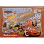 2 Quebra-cabeças - Disney Carros Race Roma - 100 Pecas Cada