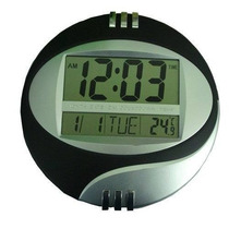 Relógio Digital De Parede Mesa Despertador Melhor Garantia