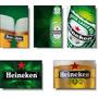 Heineken - Coleção Com 05 Imãs De Geladeira - Tema Cerveja