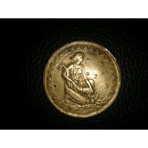 Moeda Brasil-bronze Aluminio 1000 Reis 1927 -mbc