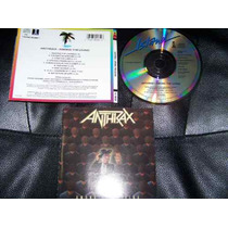 Anthrax - Among The Living Metal Anos 80