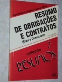 Resumo De Obrigações E Contratos (civis E Comerciais) (sebo
